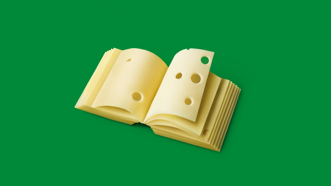 Subway Cheese Book