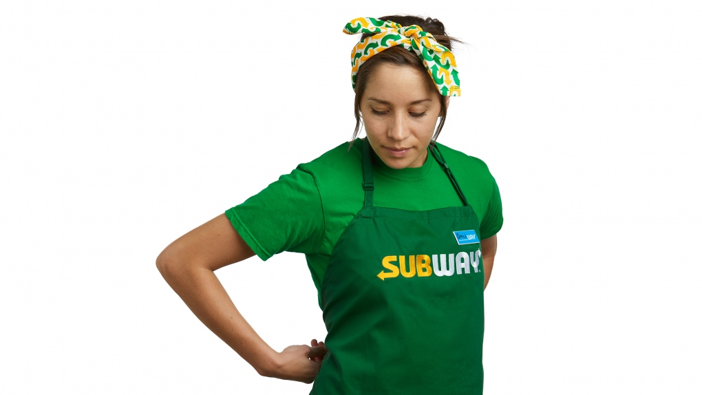 Subway Apron
