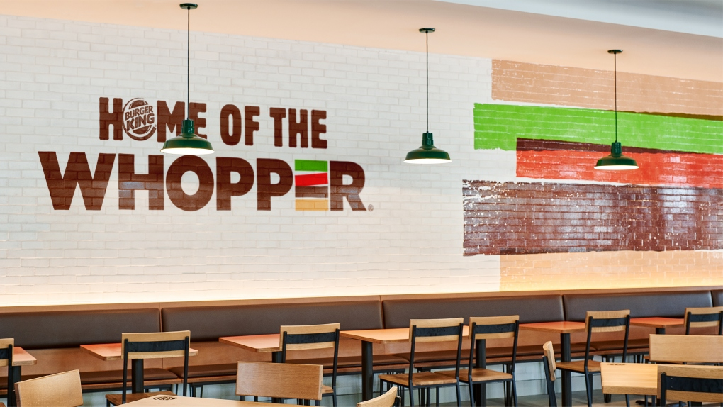 BK Home of the Whopper Wall