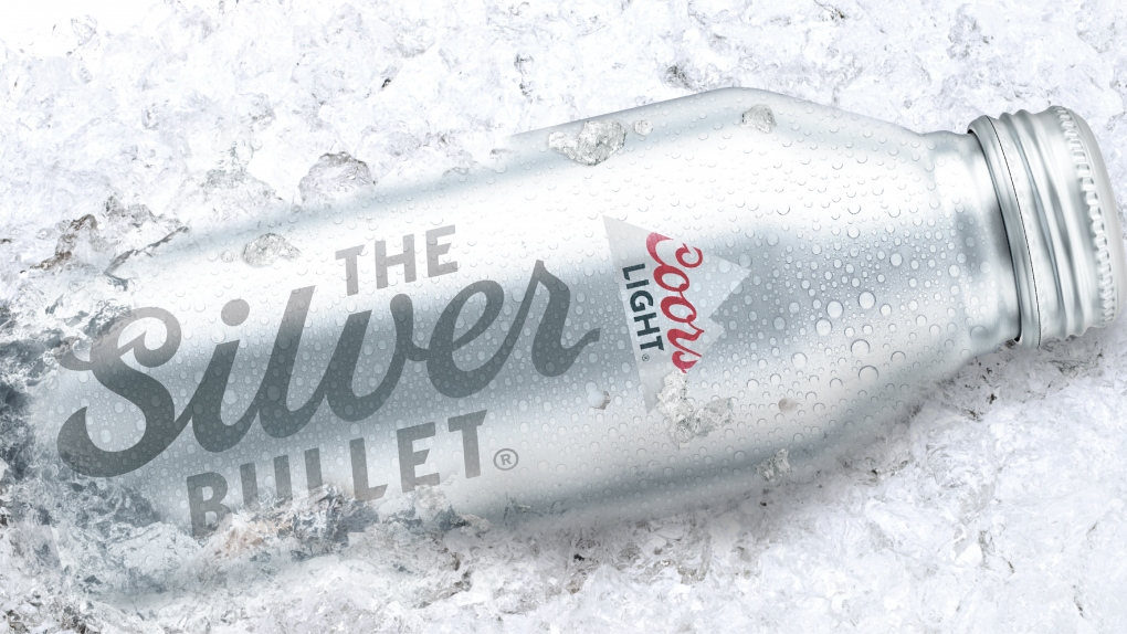 Coors Light Silver Bullet in Ice
