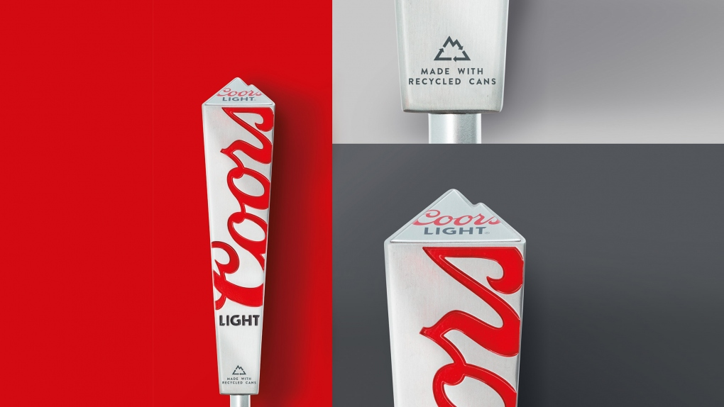 Coors Light Tap Handle