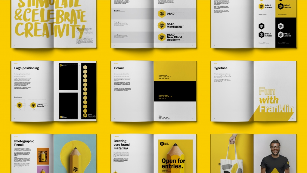 D&AD Guideline Spreads