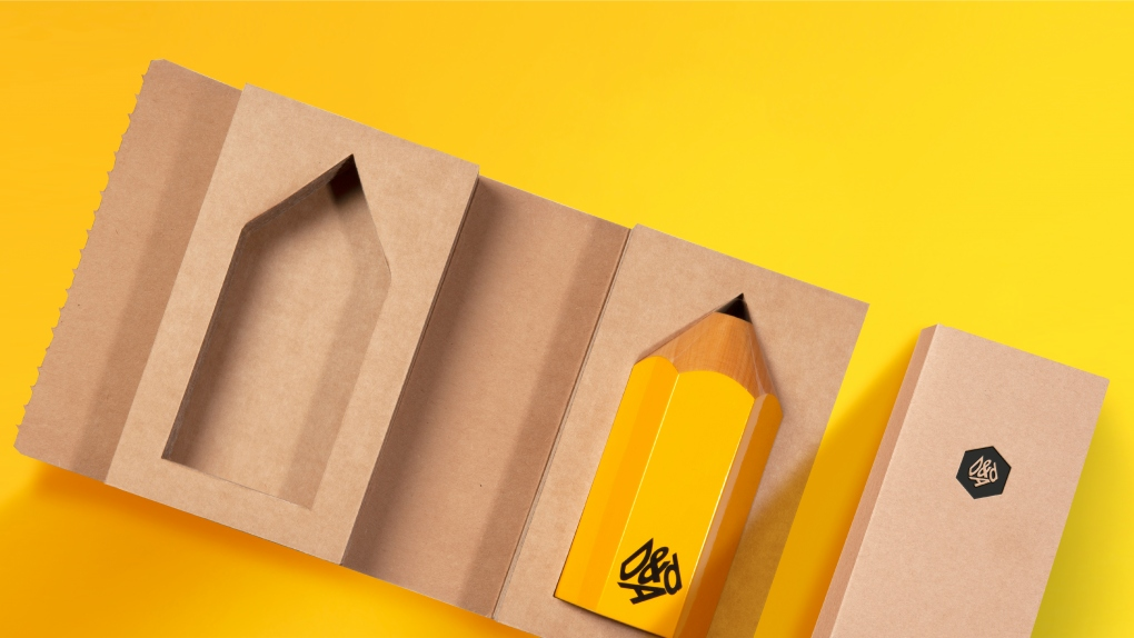 D&AD Pencil in Packaging