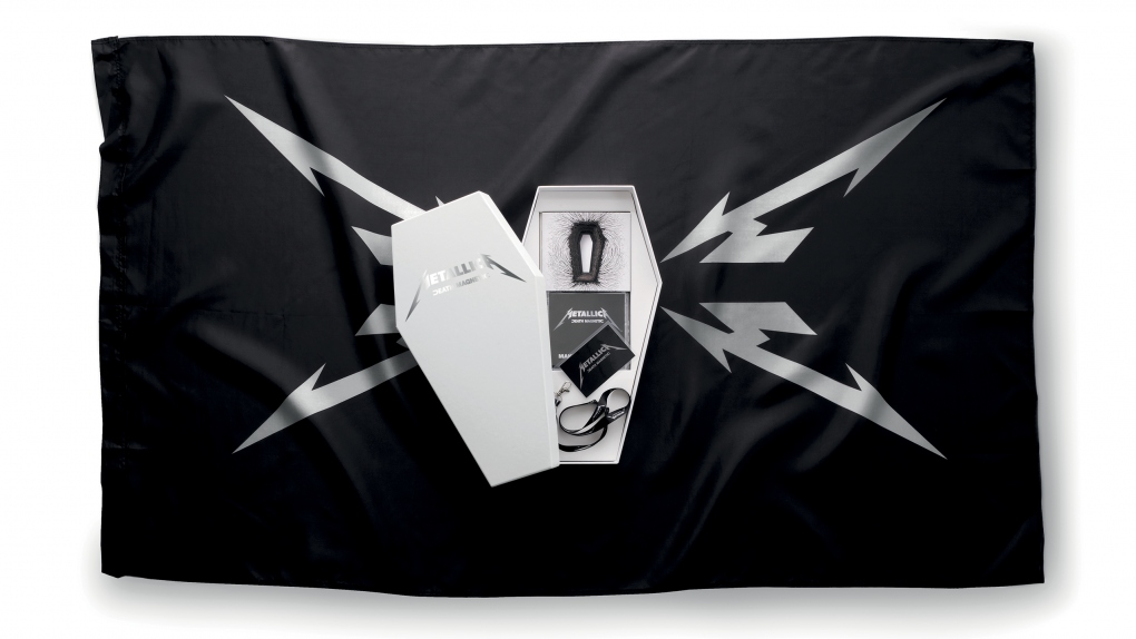 Metallica Death Magnetic Flag