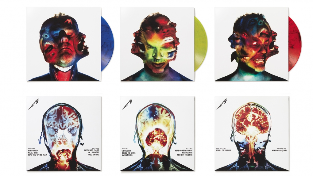Metallica Hardwired... to Self-Destruct Color Vinyl