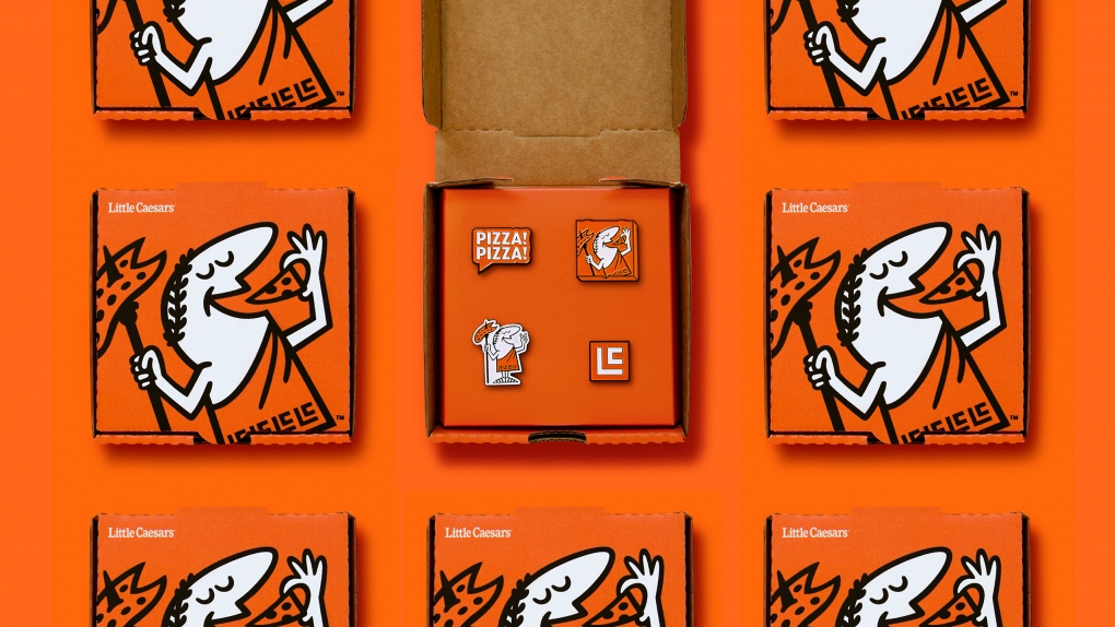 Little Caesars Enamel Pin