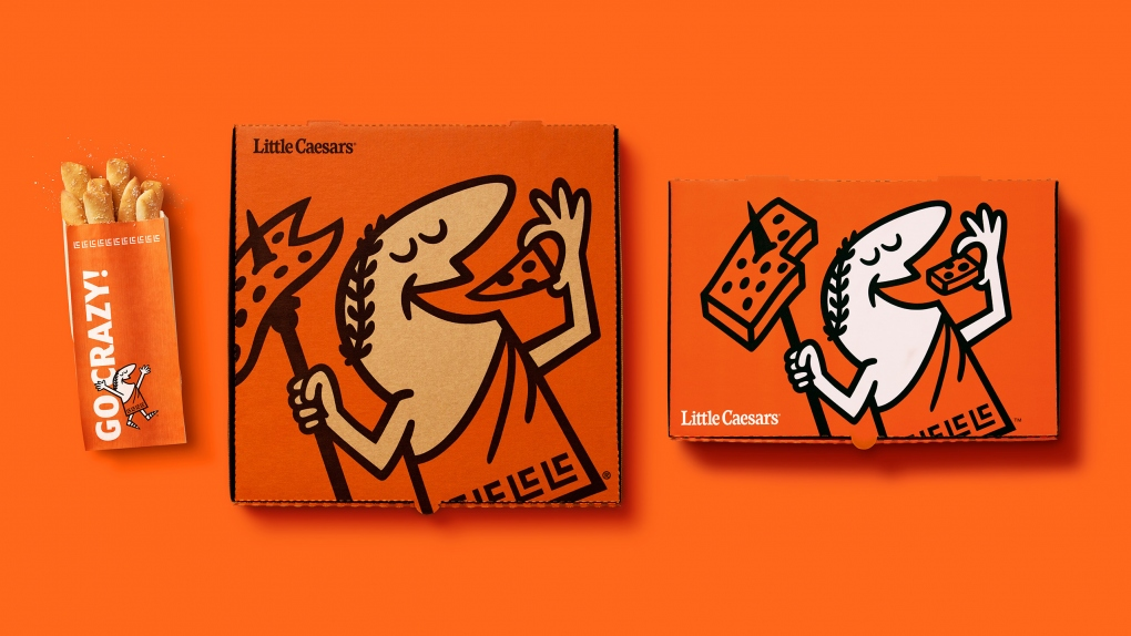 Little Caesars Packaging