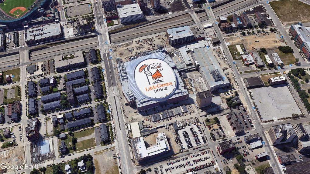 Little Caesars Stadium Logo