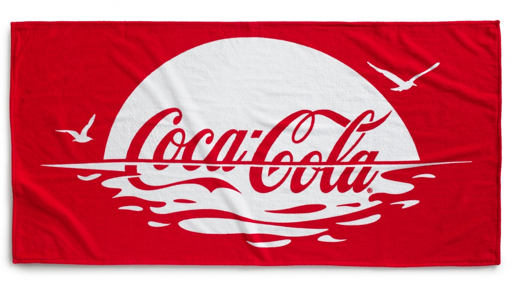 Coca-Cola Summer Beach Towel