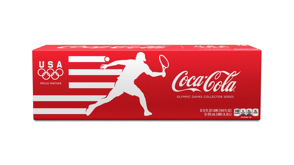 Coca-Cola Olympics Packaging