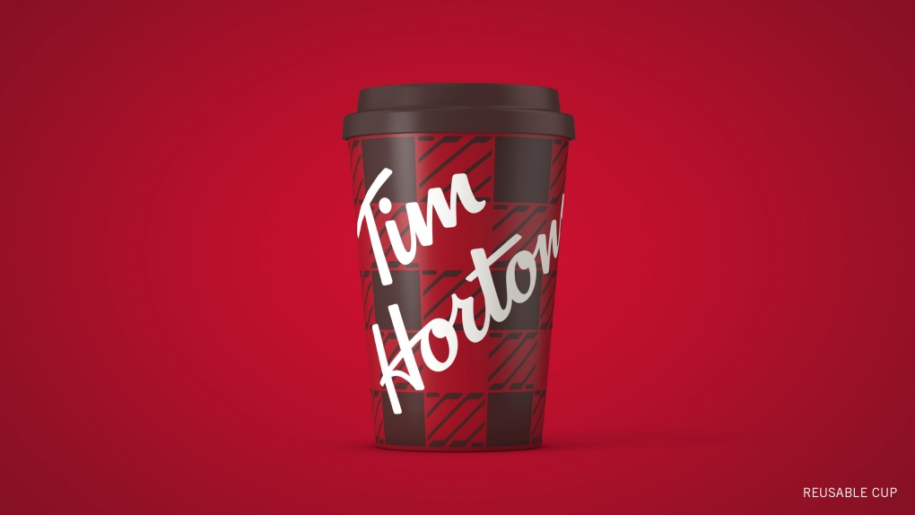 Tim Hortons Plaid Cup