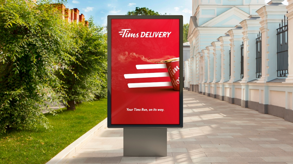 Tim Hortons Bus Shelter