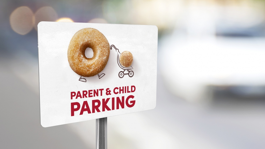 Tim Hortons Parent & Child Parking