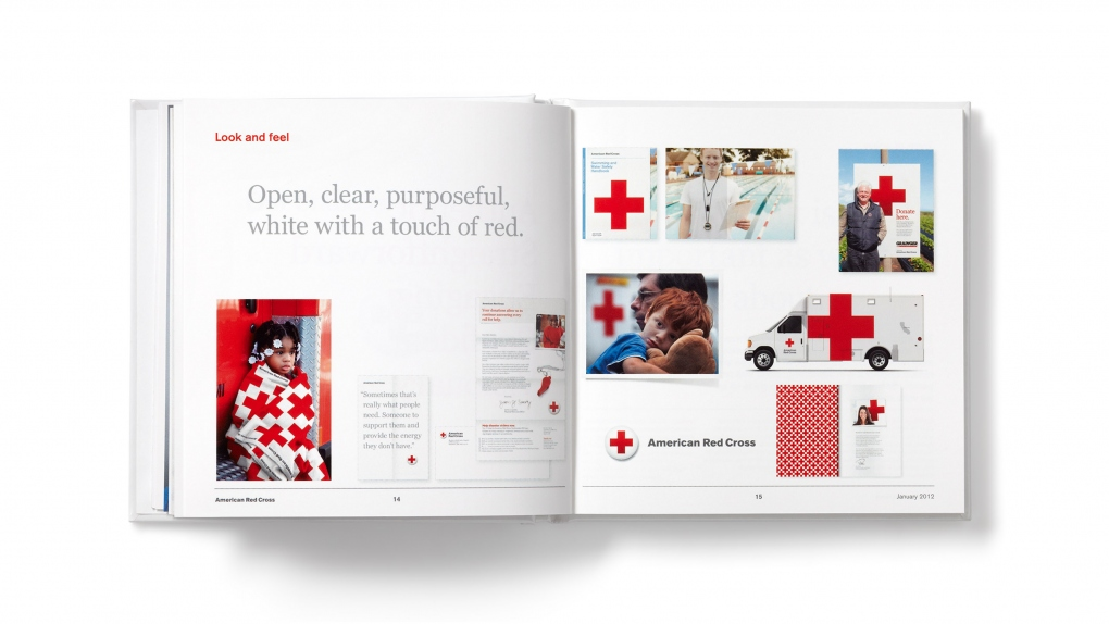 American Red Cross Look and Feel