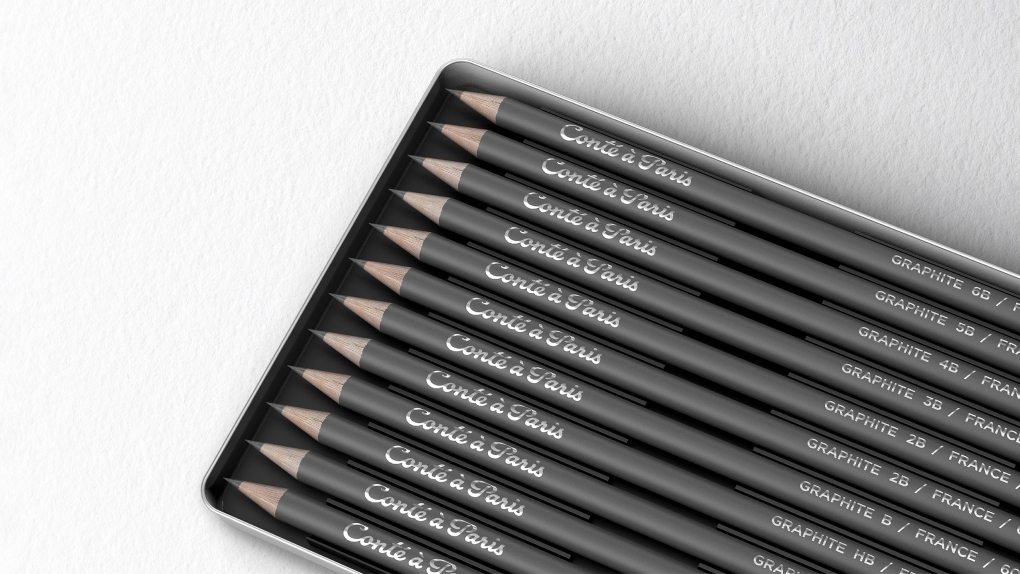 Conte a Paris Black Pencils