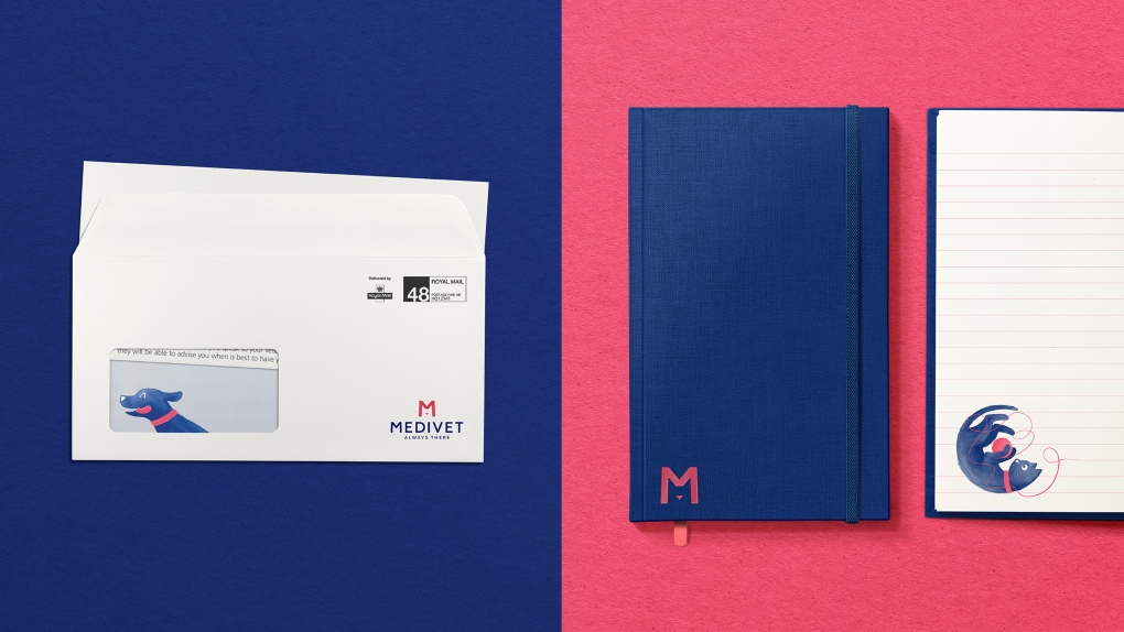 Medivet Envelope & Notebook