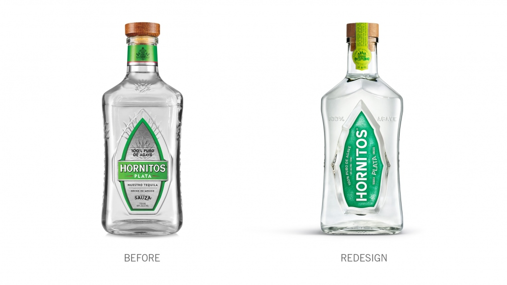 Hornitos Before & After Bottle