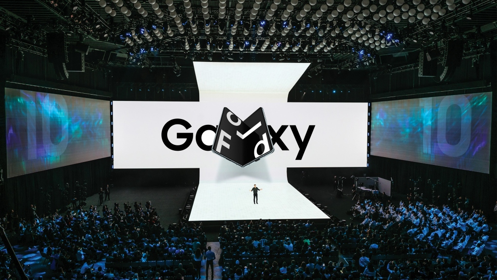 Samsung Galaxy Fold Stage