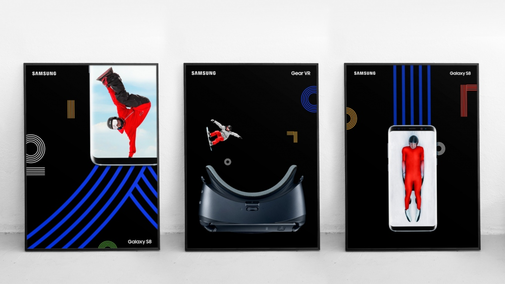 Samsung Olympics Posters