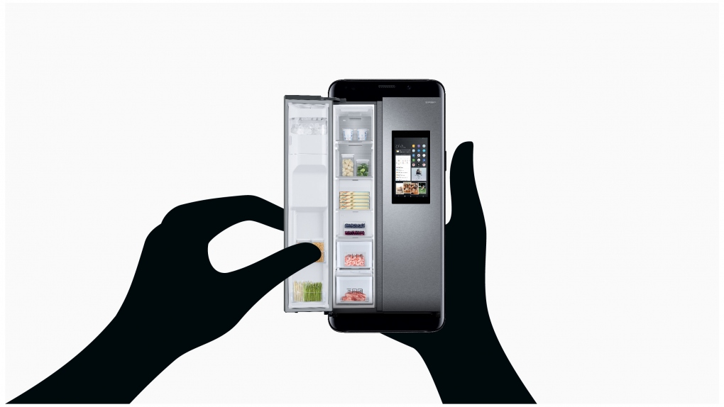 Samsung IFA Fridge Illustration