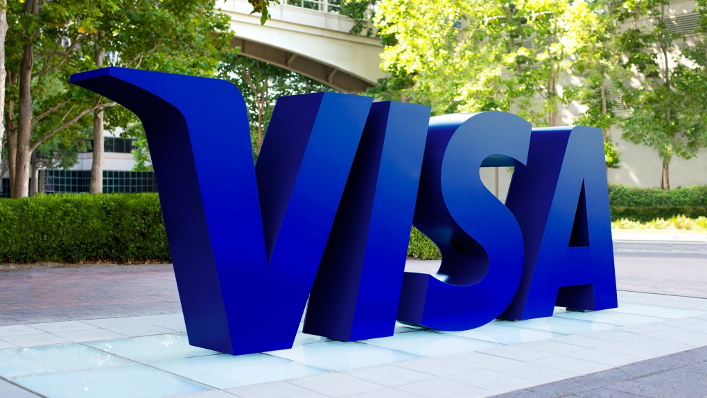 Visa Logo Outdoor Sign