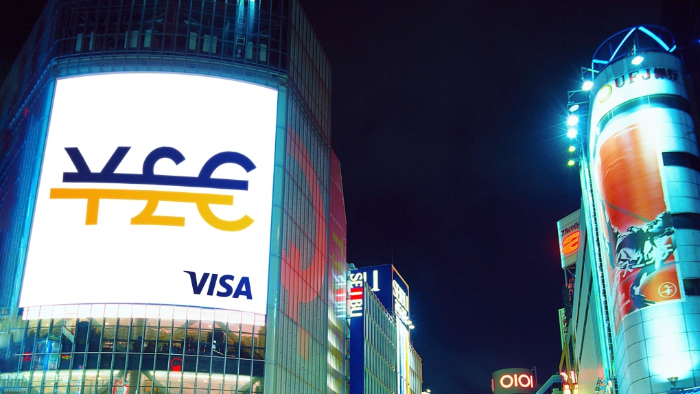 Visa Large Billboard