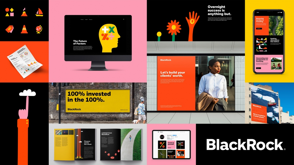 BlackRock Visual Identity System All Together
