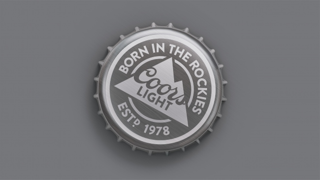 Coors Light Bottle Cap