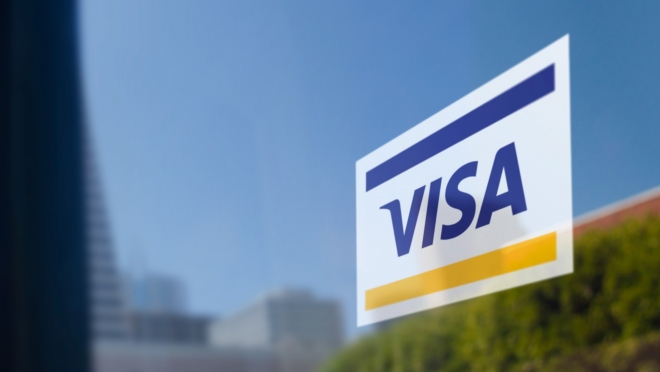 Visa Door Sticker